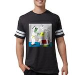 Monster Karate Mens Football Shirt