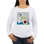 Monster Karate Women's Long Sleeve T-Shirt