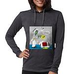 Monster Karate Womens Hooded Shirt