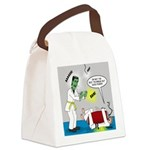 Monster Karate Canvas Lunch Bag