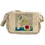 Monster Karate Messenger Bag