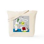 Monster Karate Tote Bag
