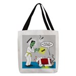 Monster Karate Polyester Tote Bag