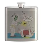 Monster Karate Flask