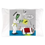 Monster Karate Pillow Case