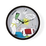Monster Karate Wall Clock