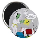 Monster Karate Magnet