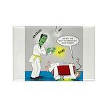 Monster Karate Rectangle Magnet (100 pack)