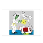 Monster Karate Postcards (Package of 8)