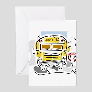 CROSSING GUARD (1) Greeting Card