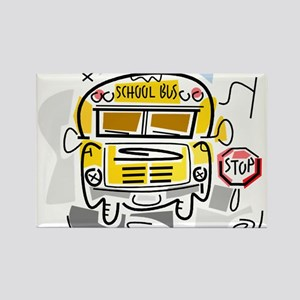 CROSSING GUARD (1) Rectangle Magnet