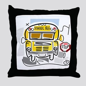 CROSSING GUARD (1) Throw Pillow