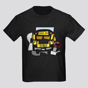 CROSSING GUARD (1) Kids Dark T-Shirt