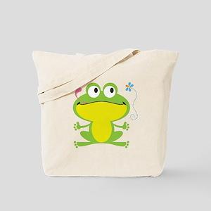 Hungry Frog Tote Bag