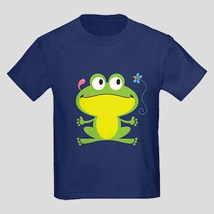 Hungry Frog Kids Dark T-Shirt