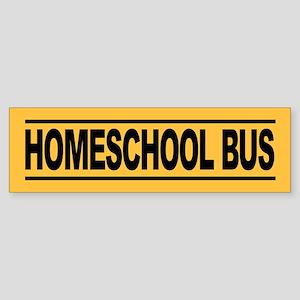 10 pk -- Homeschool Bus Bumper Stickers