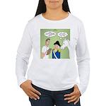 Citizenship Badge Women's Long Sleeve T-Shirt