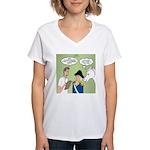 Citizenship Badge Women's V-Neck T-Shirt