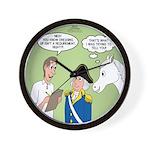 Citizenship Badge Wall Clock