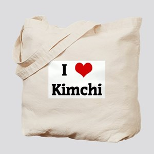 I Love Kimchi Tote Bag