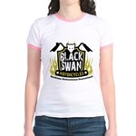 Black Swan Motorcycles Jr. Ringer T-Shirt