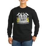 Black Swan Motorcycles Long Sleeve Dark T-Shirt