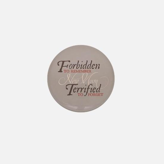 Forbidden to Remember Mini Button