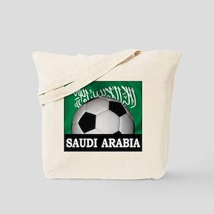 Football Saudi Arabia Tote Bag