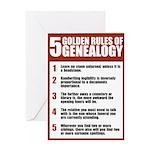 Genealogy Rules Birthday Card
