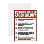 Genealogy Rules Birthday Card
