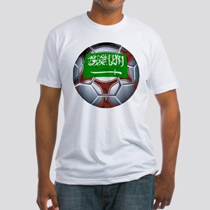 Football Saudi Arabia Fitted T-Shirt