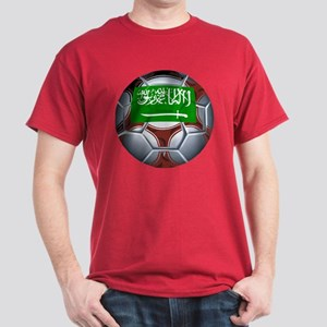Football Saudi Arabia Dark T-Shirt