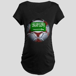 Football Saudi Arabia Maternity Dark T-Shirt