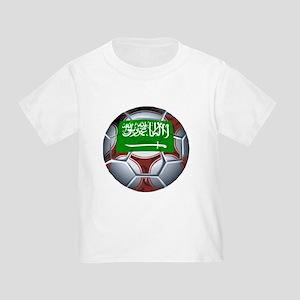 Football Saudi Arabia Toddler T-Shirt
