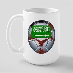 Football Saudi Arabia Large Mug