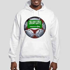 Football Saudi Arabia Hooded Sweatshirt