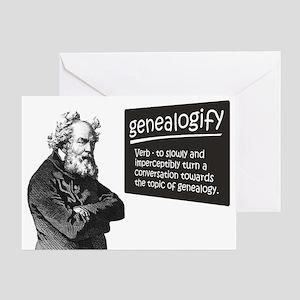 Genealogify Greeting Card
