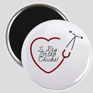 Ortho Chicks Magnet