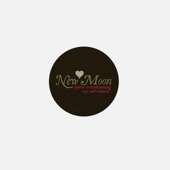 New Moon Self Control Mini Button