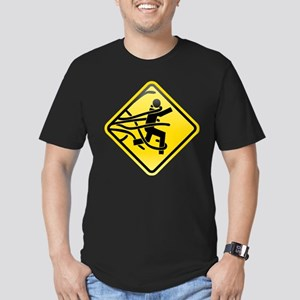 O.M.G. Men's Fitted T-Shirt (dark)