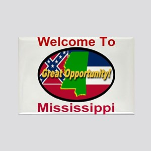 Welcome to Mississippi Great Opportunity Rectangle