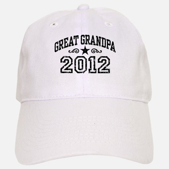 Great Grandpa 2012 Baseball Baseball Cap