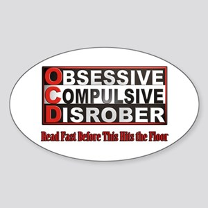 Disrober Oval Sticker