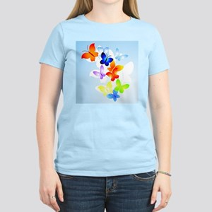 RAINBOW of BUTTERFLIES Women's Light T-Shirt