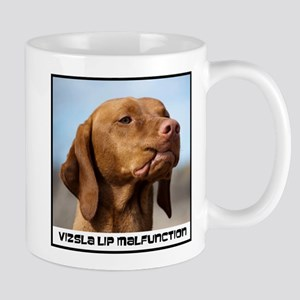 Vizsla-Lip-Malfunction Mugs