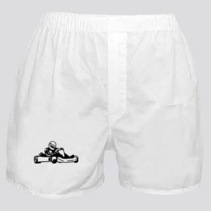 Go Kart Racing Boxer Shorts