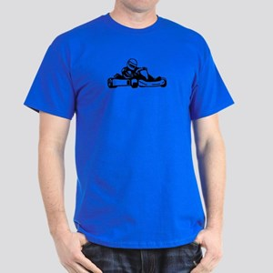 Go Kart Racing Dark T-Shirt