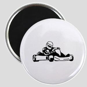 Go Kart Racing Magnet