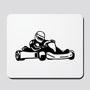 Go Kart Racing Mousepad