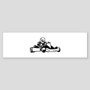 Go Kart Racing Bumper Sticker